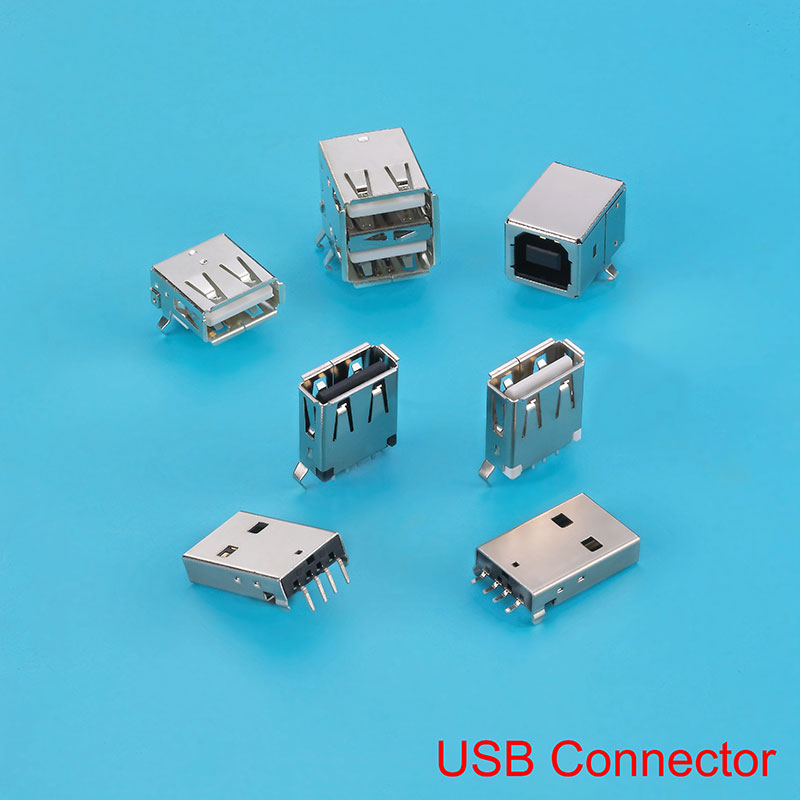 USB3.0 A Type Connector, Used in Mouse, Keyboards and Desktop Computer.