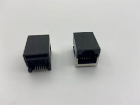 ورودی جانبی PCB Jack Latch Up نوع SMT