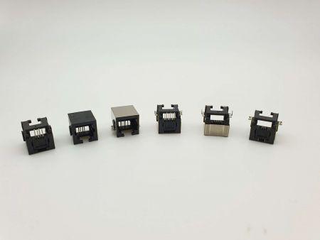 Prise PCB intégrée