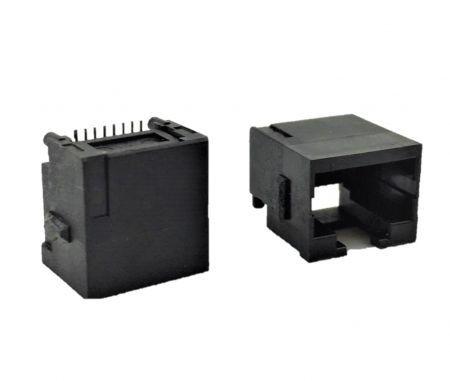 Type non blindé de prise PCB intégrée - Prise PCB intégrée à profil bas