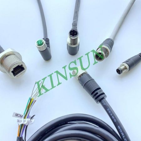 Cable Assembly with Circular Connector-Kinsun - Cable Assembly with Circular Connector