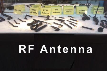 Échantillon d'antenne RF