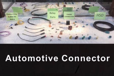 Échantillon de connecteur automobile