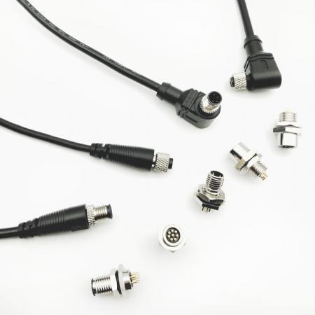 Connecteur et câble M8 - Connecteur étanche M8