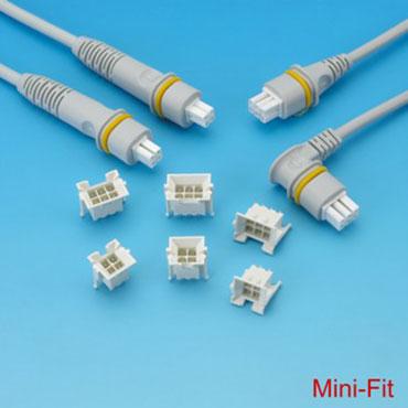 Connecteur Mini Fit/Micro Fit - Mini coupe et micro coupe.