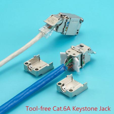 Keystone Jack - Jack không PCB