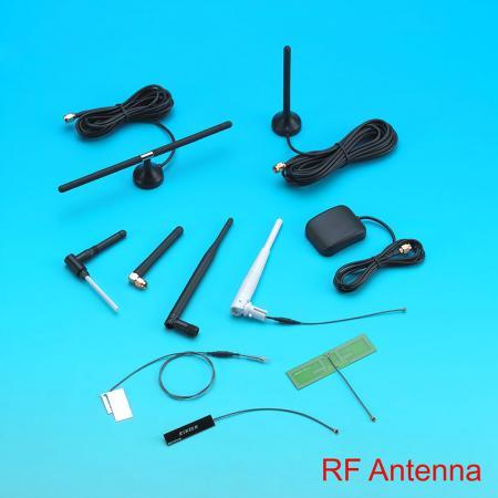 Antenne RF - Modules d'antenne RF avec une plage de fréquences de 470 à 862 MHz.