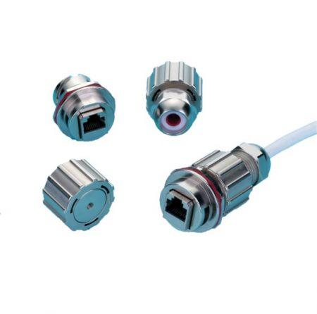 Metal Quick Lock Waterproof Connector - Kinsun - Waterproof Connector Metal Fast Lock