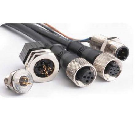 Đầu nối và cáp M12 - Đầu nối chống thấm nước M12 không thấm nước