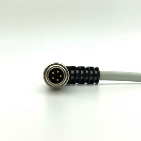 M9 Connector with Cable - Waterproof M9 A code Male & Female with Cable IP68