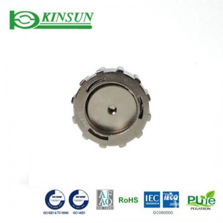 Casquette étanche en métal - Connecteur étanche Metal Fast Lock