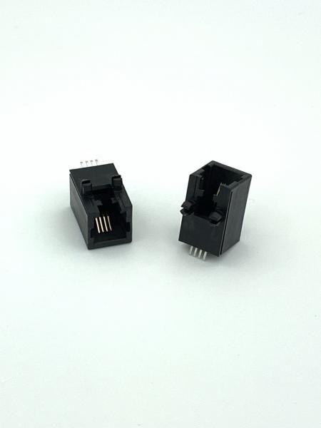 Entrée latérale PCB Jack Latch Down type CMS - Prise PCB à entrée latérale