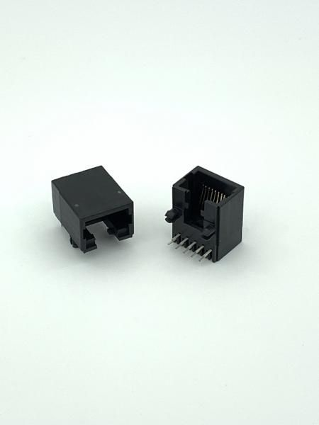 Side Entry PCB Jack Latch Down TH type - Side Entry PCB Jack