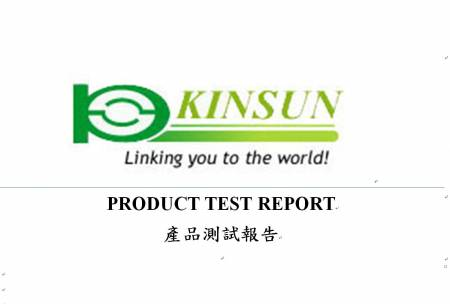 Test Report - Kinsun - Test Report