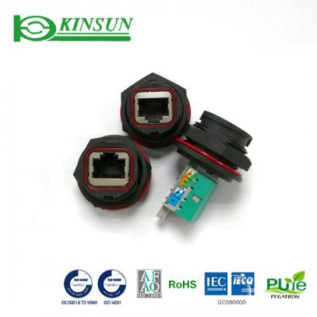 Waterproof RJ45 with IDC