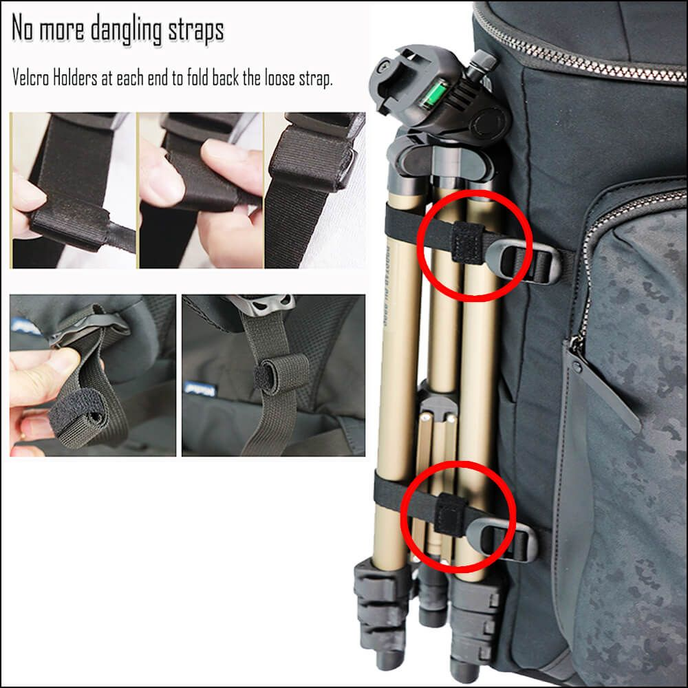Loose strap folding design
