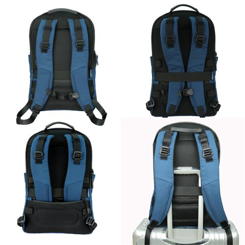 Lightweight, Padded Back, Luggage Strap Design