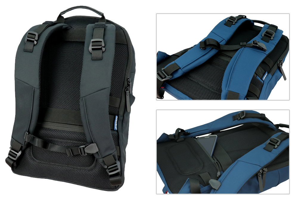 Comfy backpanel and Anti-theft pocket