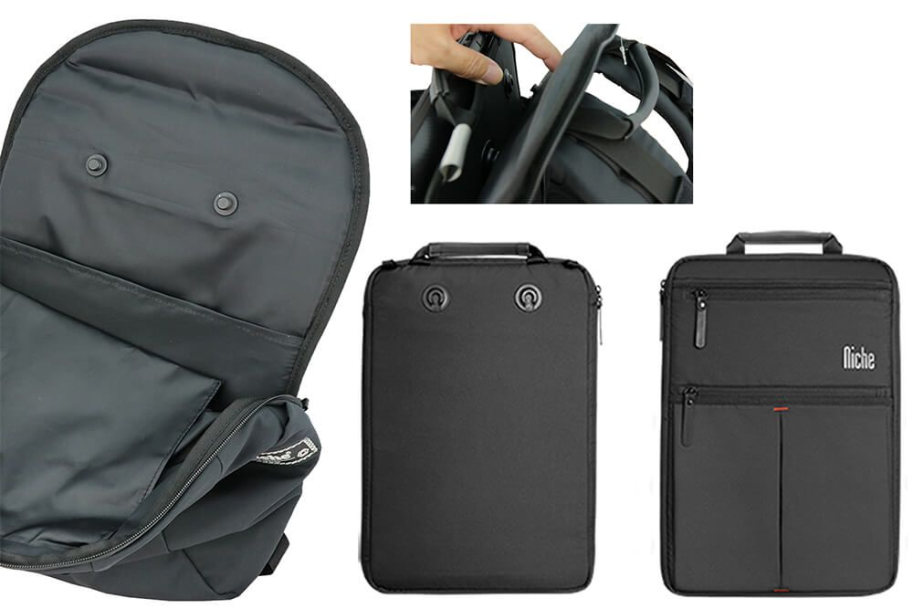 Backpack built with Magnetic Buckles