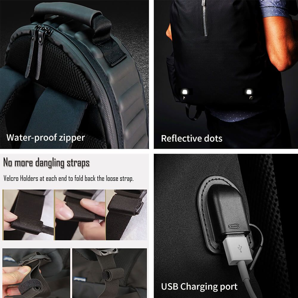 Backpack that is made for modern life
