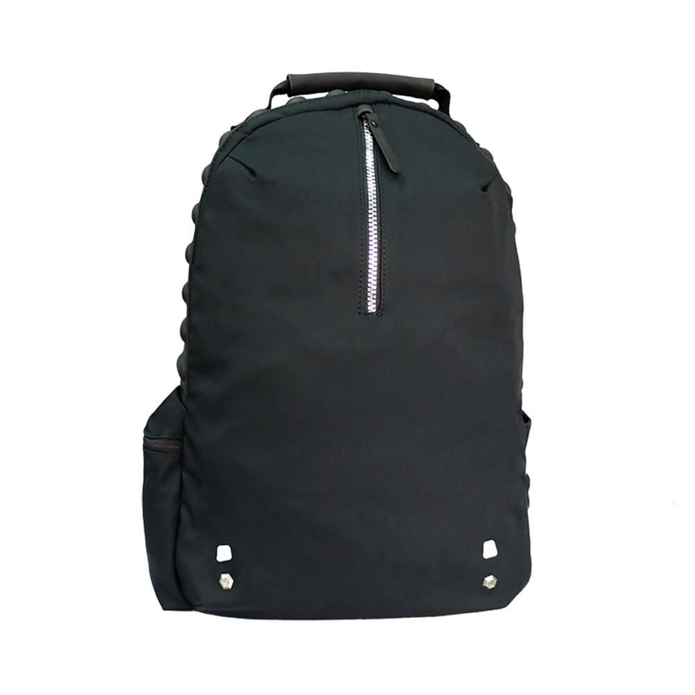 Casual Backpack with EVA Compressed Foam Cushion Pads, and Magnet Buckle for Mobile Pouch, Ultra Light Weight Fabric with Great Water Repellent