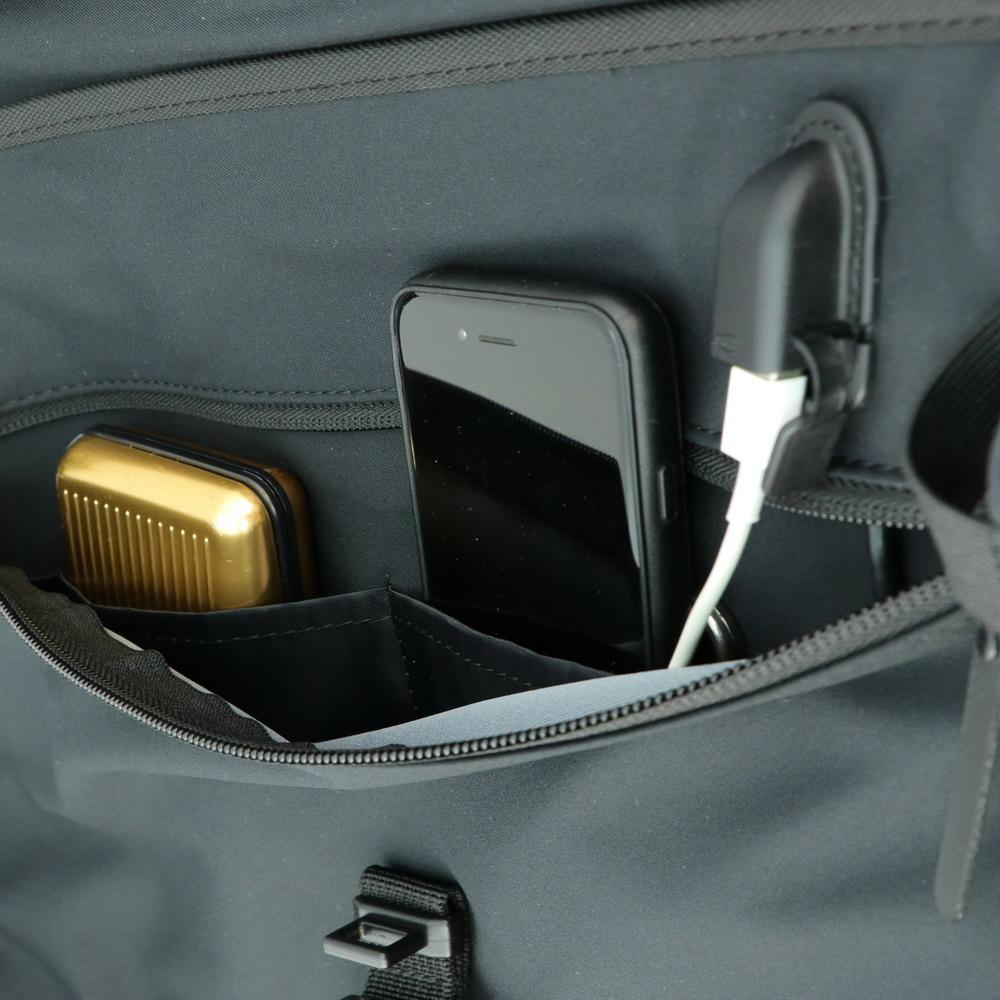 Niche USB charge Backpack