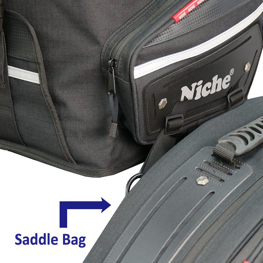 Система крепления ремня - соединение с седельными сумками