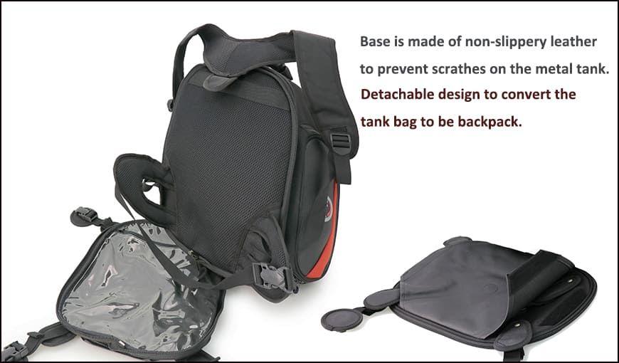 Detach base to Backpack