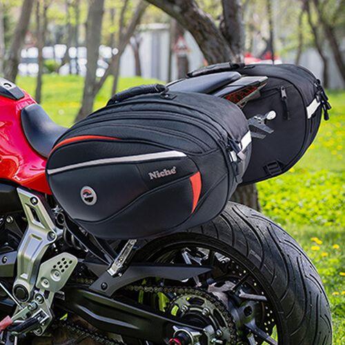 Tato kolekce motocyklových měkkých zavazadel je vaším nejlepším kamarádem pro jízdu na motocyklu.