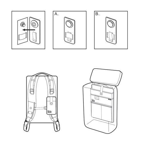 Patent FasRelis Magnetic Buckles Built-in