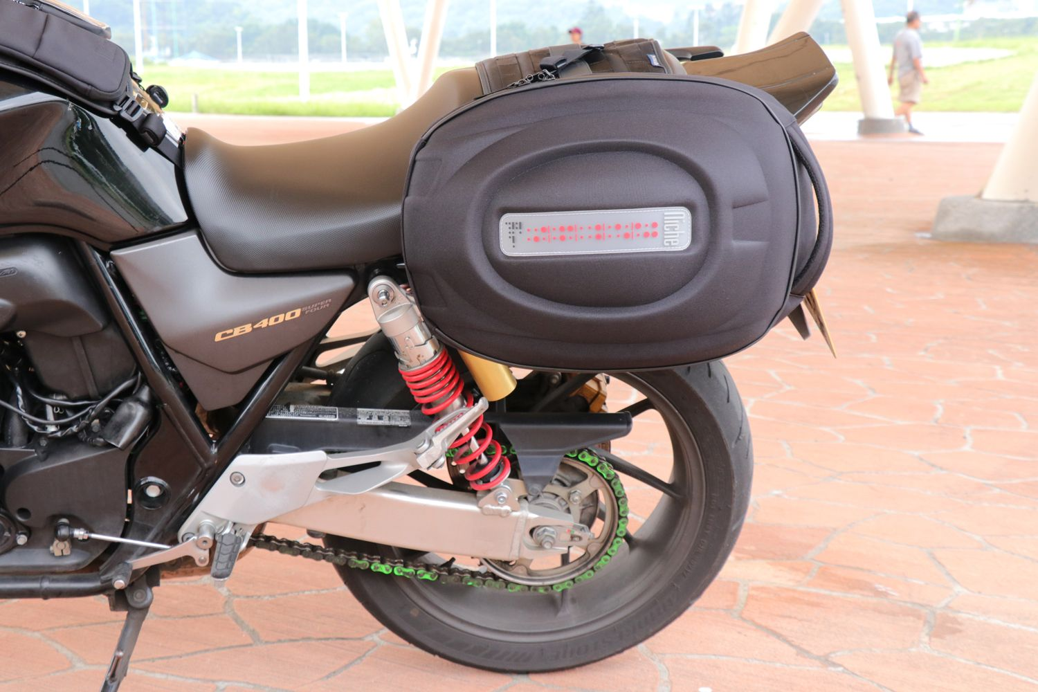 Niche Summit has coolest, most innovative motorcycle bags, luaage, backpacks for motorcycle riders