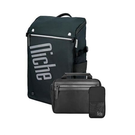 Casual Backpack with Quick Access Pocket