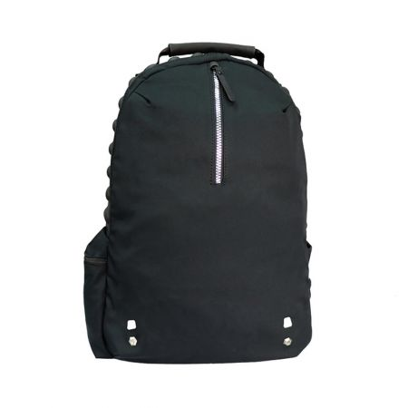 Casual Backpack with Compressed Foam Cushion, Magnet Buckle for Mobile Pouch