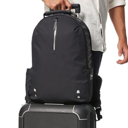 Casual Backpack with Compressed Foam Cushion