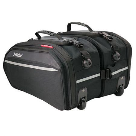 Седельные сумки XL для мотоциклов с колесами и тележкой