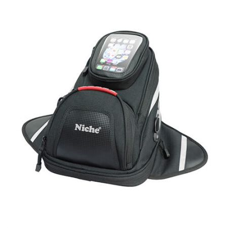 Small Tank Bag with Magnet and Smart Phone Pouch