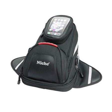 Маленький Сумка на бак с магнитом и сумкой для смартфона