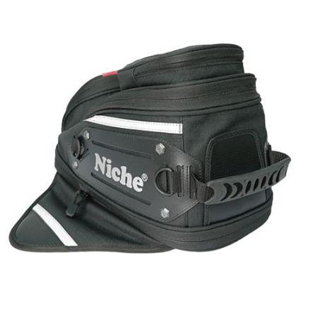 Asa superior de fácil agarre y anillo en D para la correa para el hombro para facilitar el transporte.