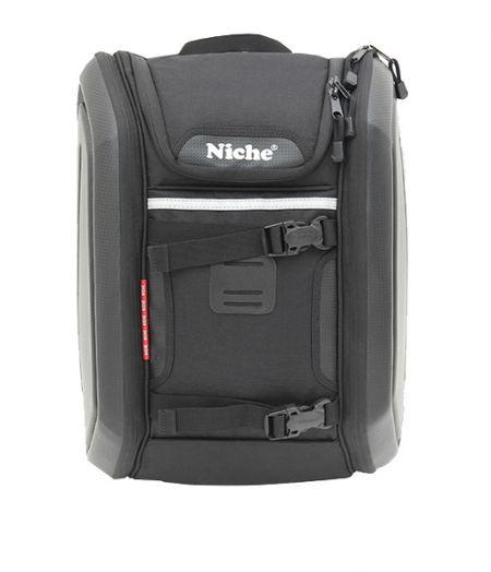 Полутвердый компьютерный рюкзак с боковой оболочкой
