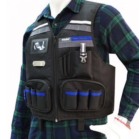 Engineer Tool Vest with Multiple Pockets