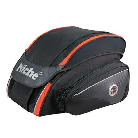 Zadní taška na helmu na motocykl