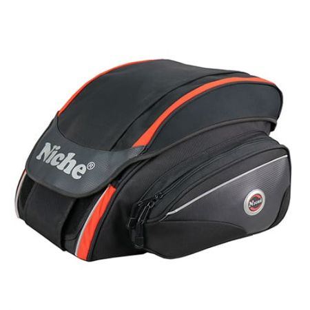 Helmet Rear Bag, 3/4 Covered helmet, Foam padded material