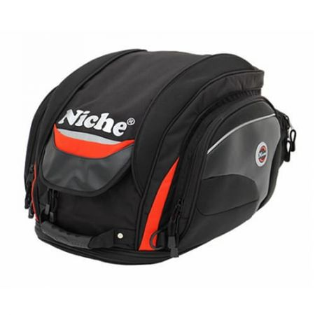 Полноразмерная задняя сумка для шлема для мотоцикла