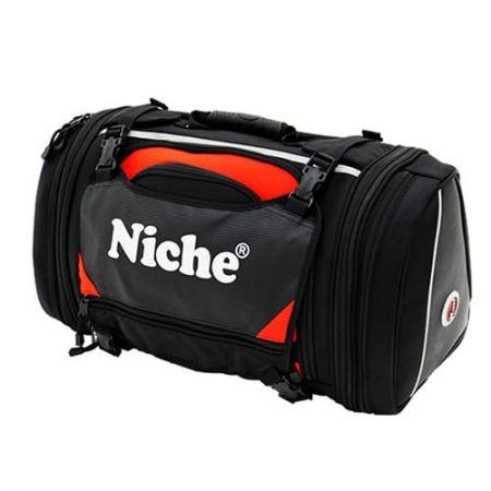 Спортивная задняя сумка мотоцикла, расширяемый материал с вспененной подкладкой