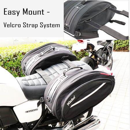 Седельные сумки и сумки на бак с возможностью быстрой установки и портативного дизайна