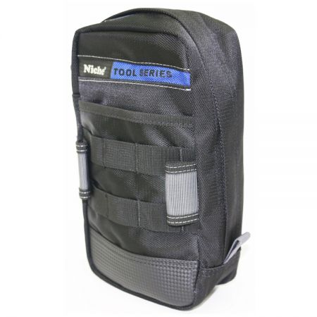 Zipper Closure Tool Bag with MOLLE System, Multiple Carry Ways