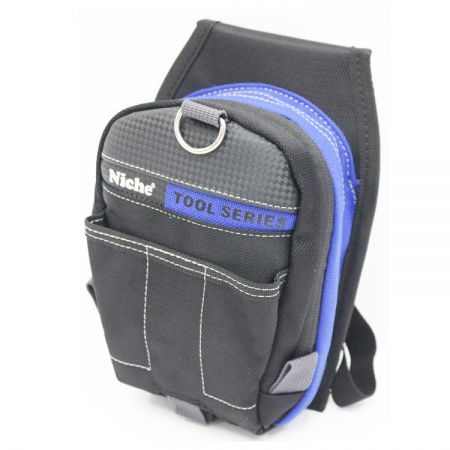Mini Tool Pouch Tool Holder Waist Bag with Belt Loop Smart Phone Holder Multi Purpose Waist bag Small Utility Pouch