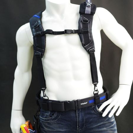 Wide and heavy padded Suspension Rig