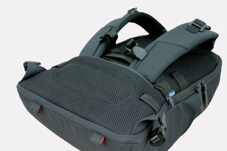 Pohodlný batoh a uživatelsky přívětivé prvky