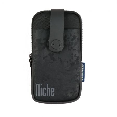Mobile Phone Pouch with Camouflage Emboss fabric
